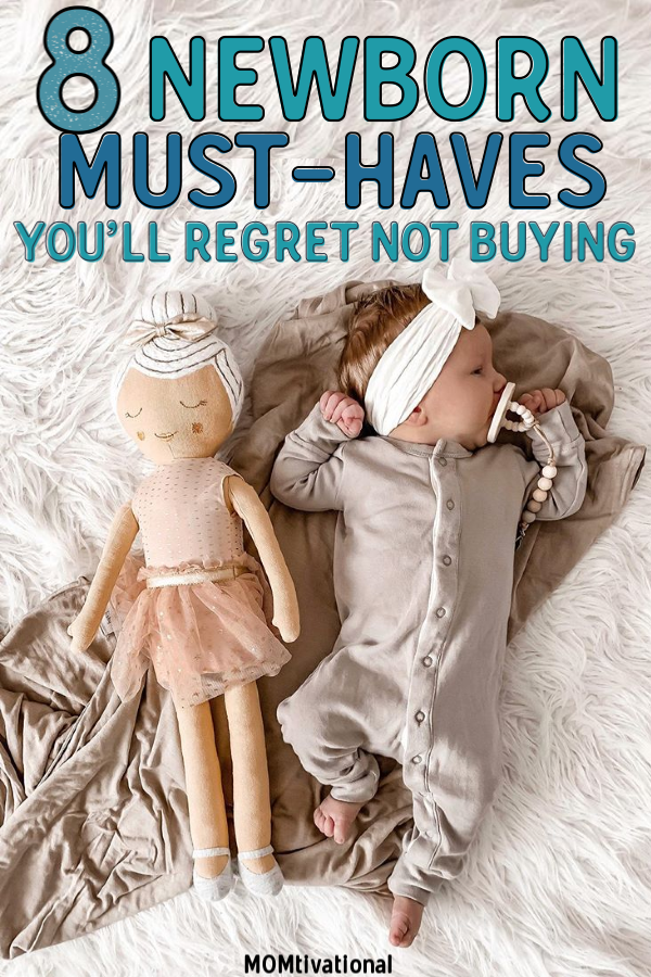 What does a Newborn Baby Need? Newborn Tips and Tricks. What is absolutely necessary for a newborn? Baby things to start buying for baby. Baby products to put on your registry TODAY #newborn #pregnant #musthaves