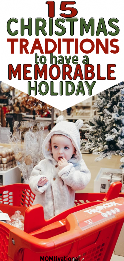 Looking for the best Christmas Traditions to start with your Family? Plan an amazing and memorable holiday season this December! The perfect tradition for kids and adults alike! Get festive this Christmastime #christmas #traditions #merrychristmas #familychristmas
