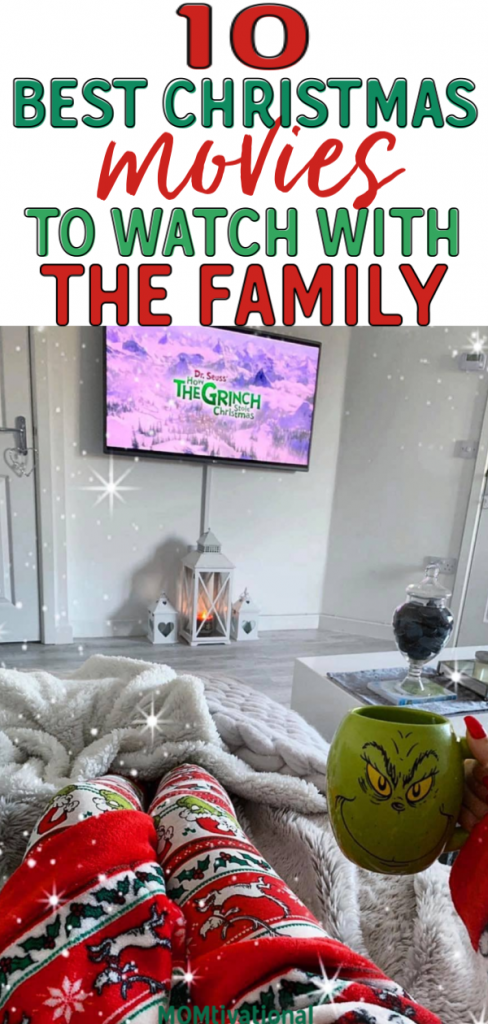 The absolute BEST Christmas movies for toddlers. Have a family movie night this Holiday season with this Christmas movie lists idea