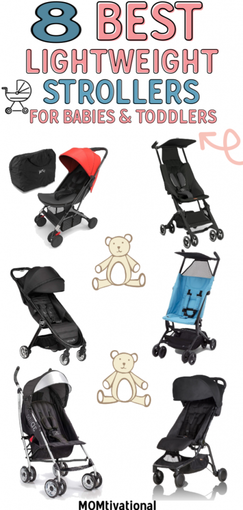 Lightweight strollers are portable, compact, and smaller than other models making them great for travel. Check out our picks for the best lightweight stroller for babies, toddlers, and even twins!