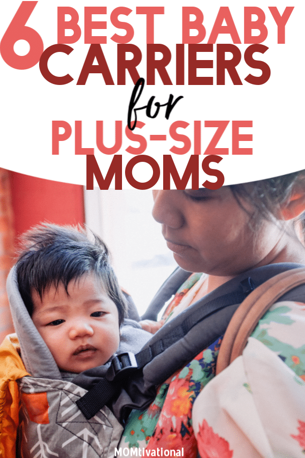 Finding the perfect baby carrier as a plus-size mom can be tricky but not impossible! There are plenty of adjustable babywearing carriers available that new moms will absolutely LOVE! They give you the ability to be hands-free while keeping your baby (or toddler) close by #newmom #newmomtips #babycarriers