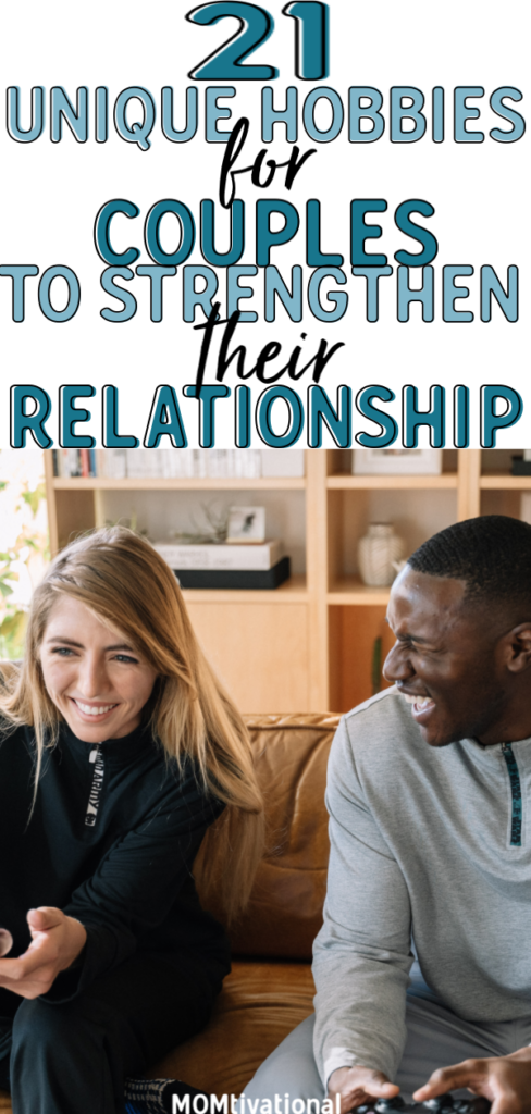 Looking for fun hobbies to do as a couple? Wondering what to do together asa couple at home and indoor activities for couples at home? There are A BUNCH of fun and cheap projects to do with your girlfriend/boyfriend to strengthen your relationship #marriage #relationshiptips #marriagetips #hobbiesforcouples