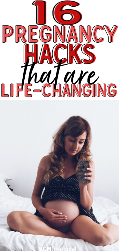 PREGNANT?! I wish I knew these the first time around! Super helpful hacks and tips that you should know if you're expecting! Whether you're in your first or third trimester, these pregnancy tips are a GAME-CHANGER | Pregnancy Hacks | Pregnancy Tips |