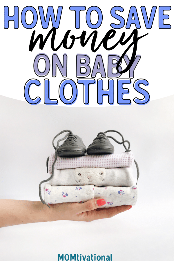 You can have a baby on a budget! Learn how I save money on baby clothes with these great tips. A newborn doesn't have to be SO expensive if you follow these money saving baby hacks #newmom #afterbaby #newborn #baby #babybudget