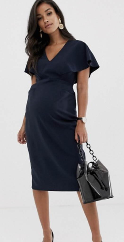 Looking for an elegant maternity dress to wear to a wedding? These STUNNING maternity dresses are perfect to rock at any wedding! You'll look absolutely gorgeous and show off your baby bump as a wedding guess |Wedding Guest Dress | Maternity Dresses For a Wedding #maternitydresses #pregnant #pregnancy