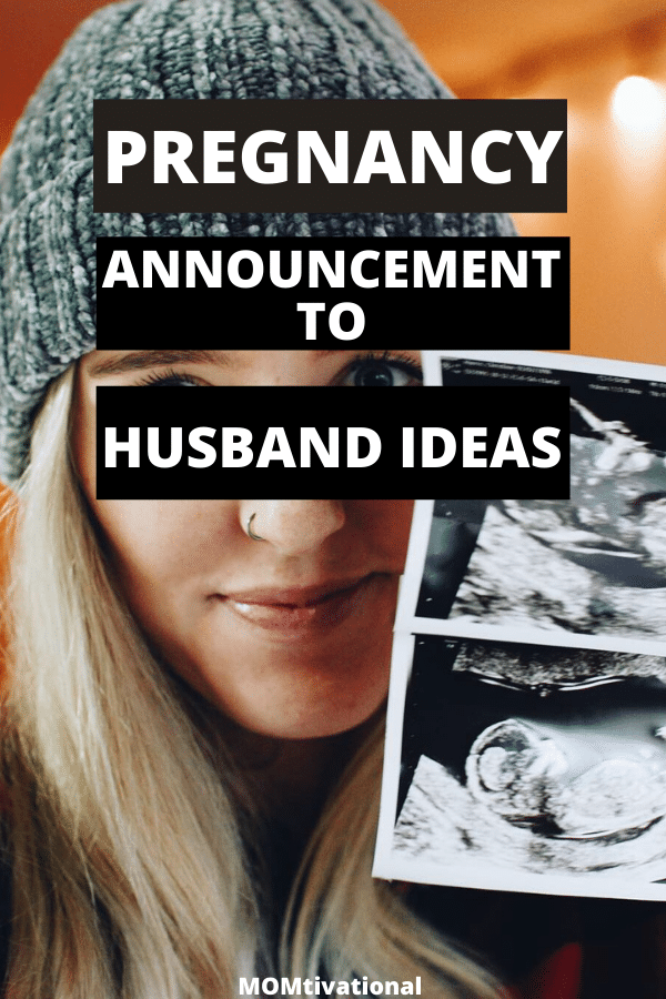 Adorable first pregnancy announcement to husband ideas you will want to steal! These clever baby announcement to family are both creative and hilarious!