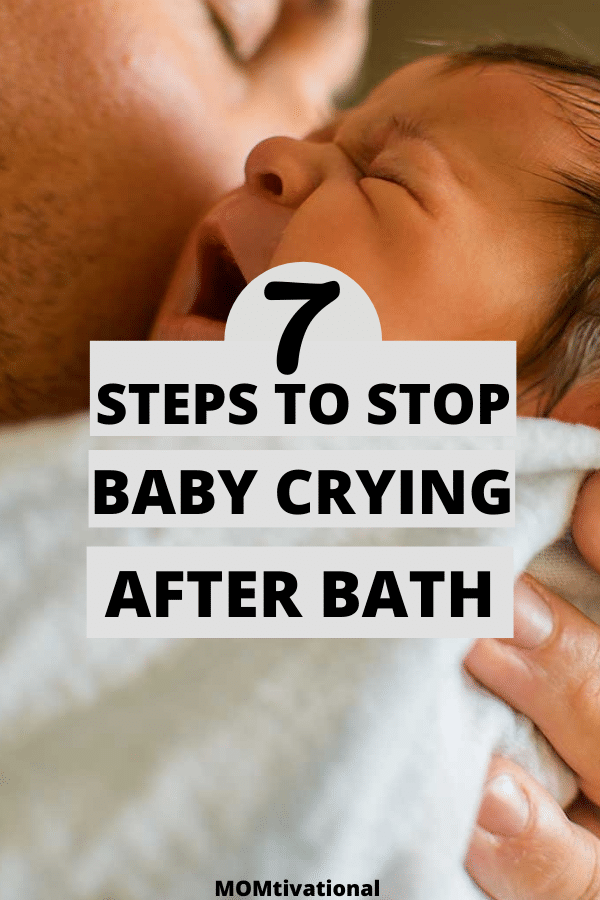 Omg, every single time I bathe my baby he starts crying after bath. As a new mom, didn't know what I was doing wrong. These helpful baby bath tips are a lifesaver