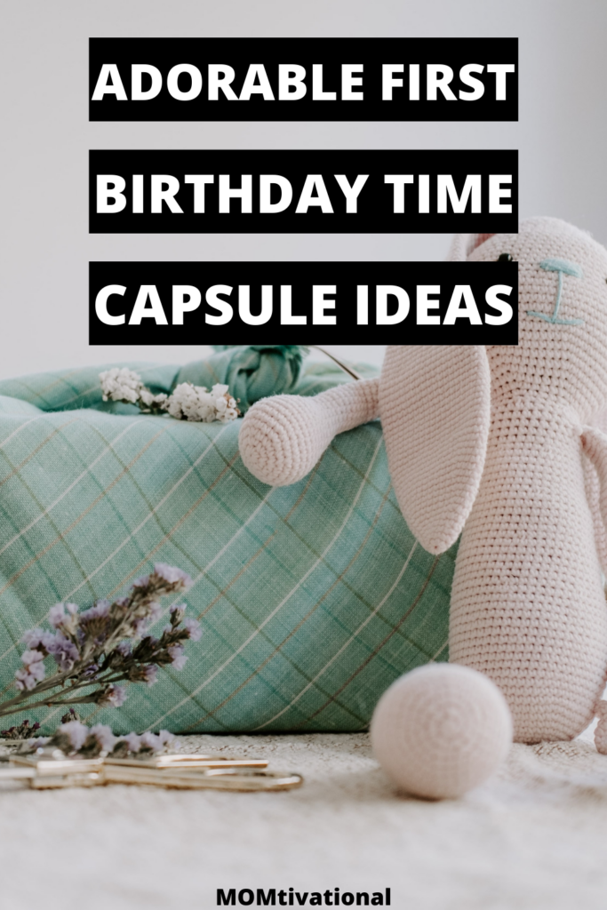 Omg! These first birthday time capsule ideas are so good!! I am so excited for my baby's first birthday party and preparing this unique gift
