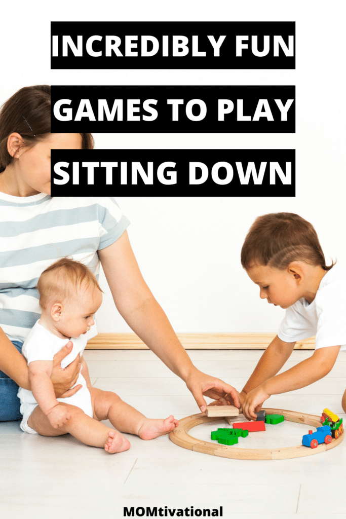 Omg! These games to play with kids sitting down are sooo fun and creative. I wanted some sit down party games for kids and these are perfect!
