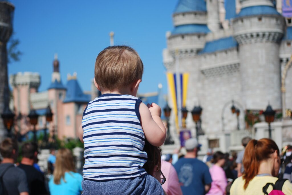Baby at Disney World - You Need A Great Stroller Fan To Combat The Heat In Disney