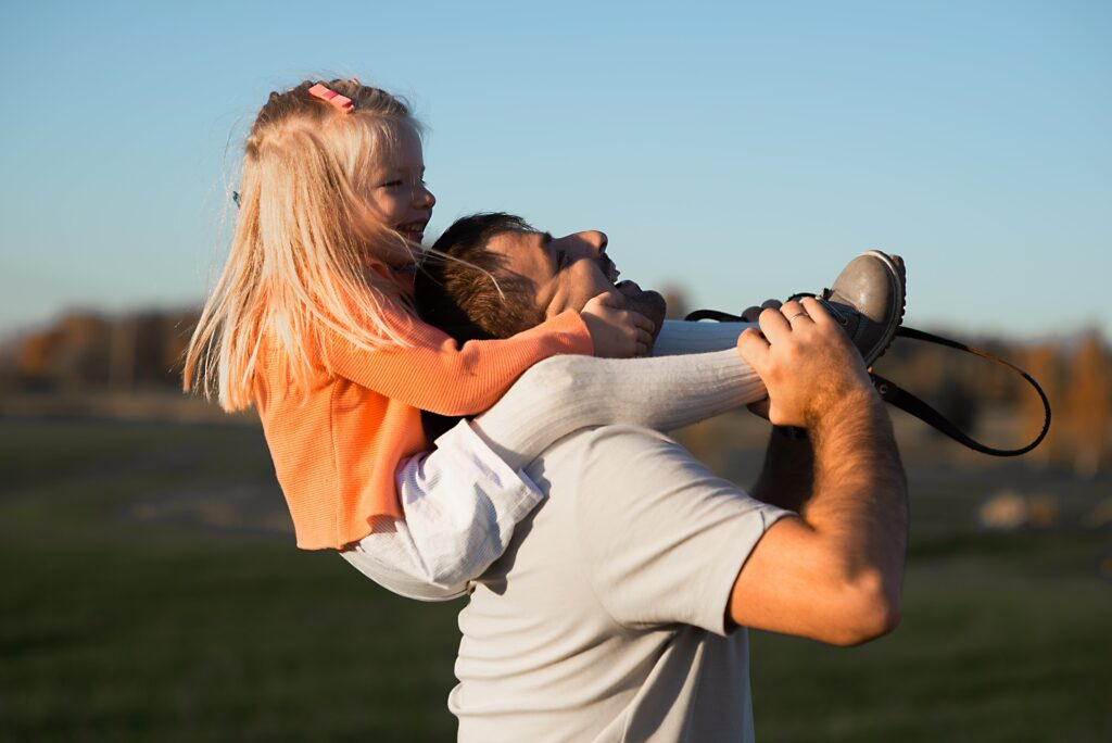 Patient men are typically good fathers