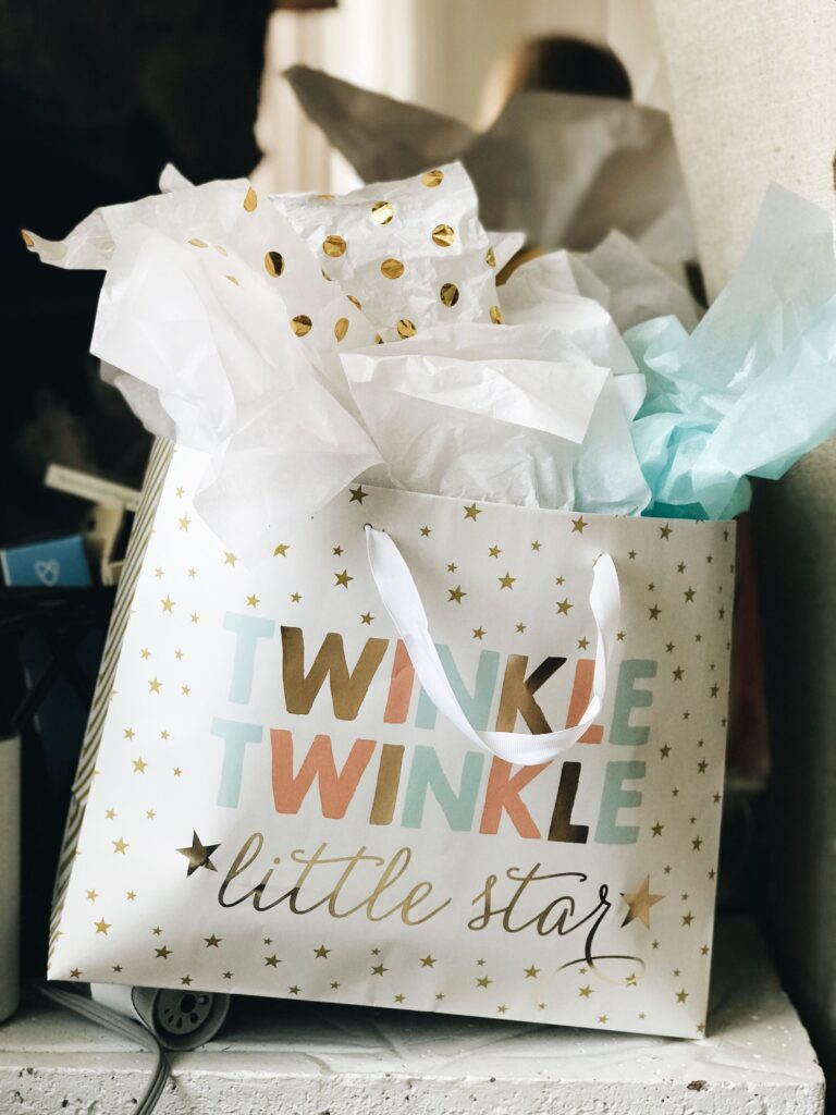 Twinkle Twinkle - Adorable gift for a baby sprinkle or. vs shower