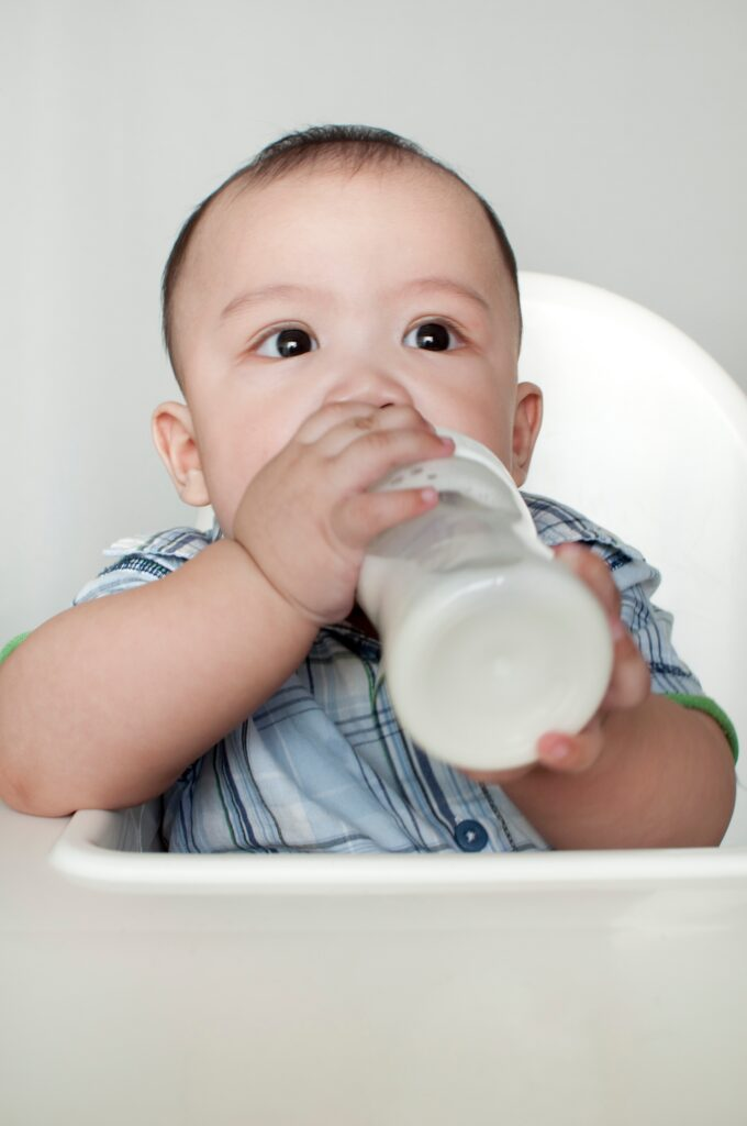 how long does it take for a baby to adjust to formula