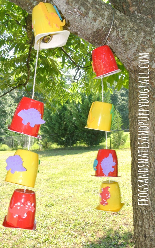 DIY Wind Chimes are an EASY and fun project and summer craft activity for toddlers