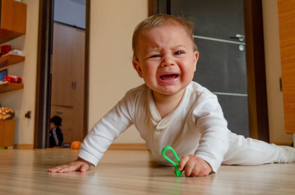 Baby Hate Tummy Time