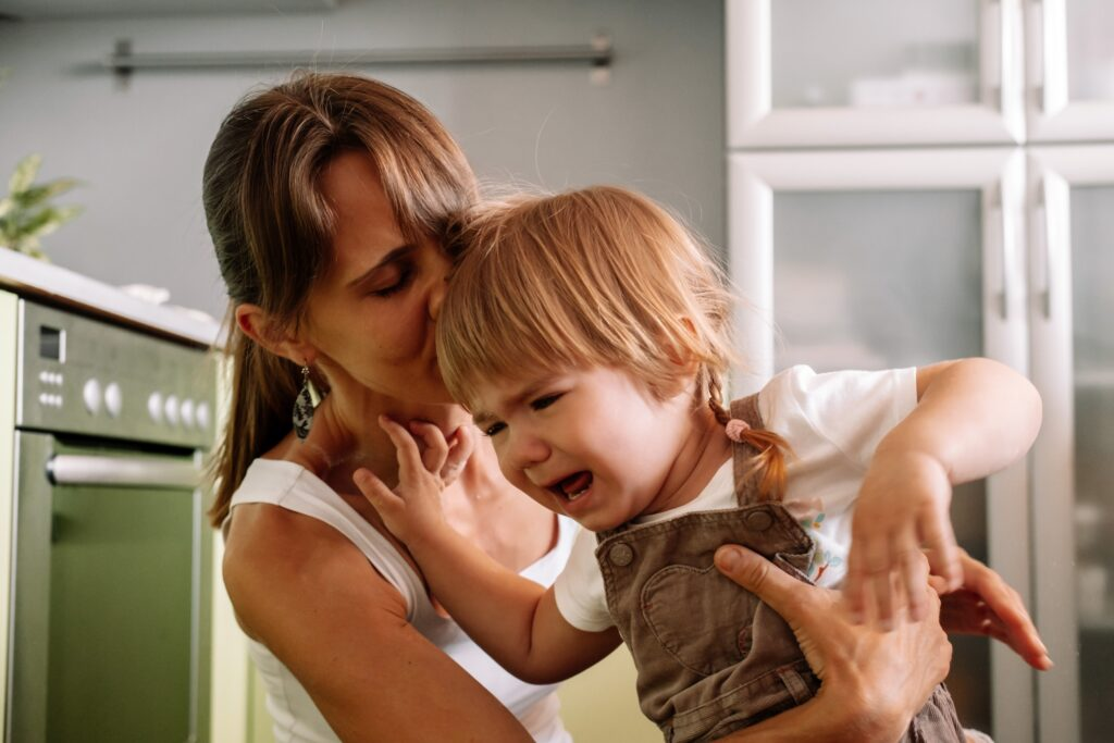 How To Handle Your Toddler Misbehaving Around You